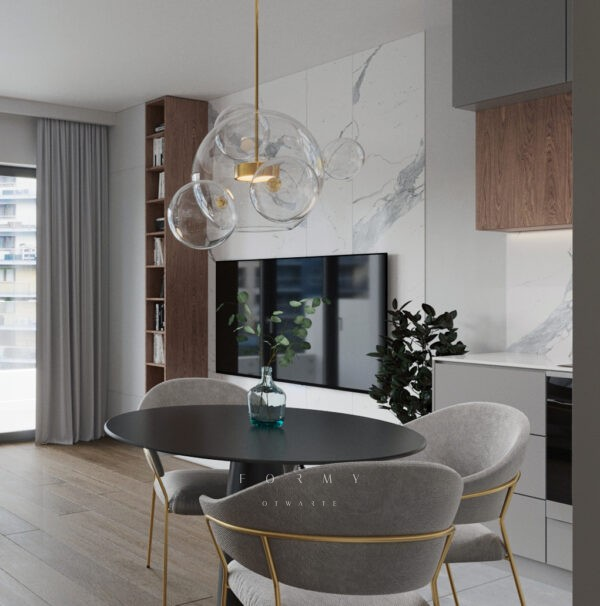 Krakowski Apartament z bąbelkami